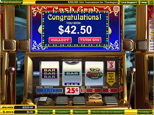 free Cash Crab slot bonus feature