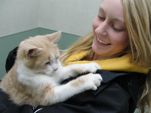 Lisa and Kitten