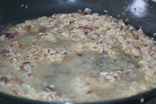 Risotto chicken stock for Cheese Risotto