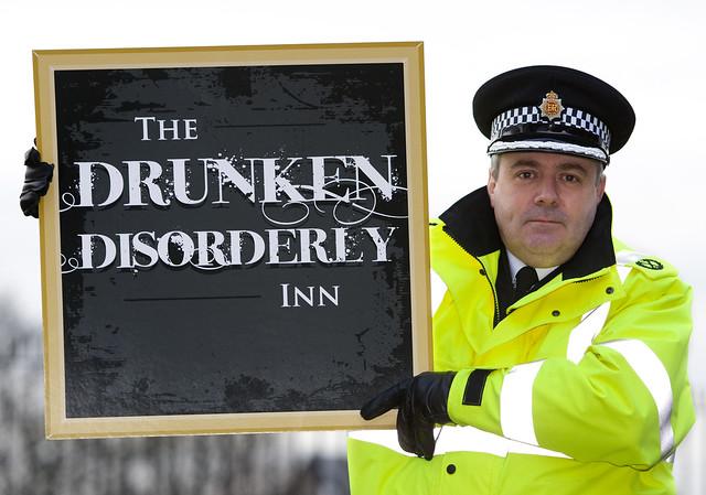 The Drunken Disorderly Inn by Greater Manchester Police