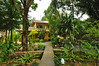 Ilha Grande: entrance of my hostel