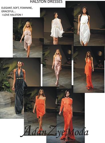Halston dresses