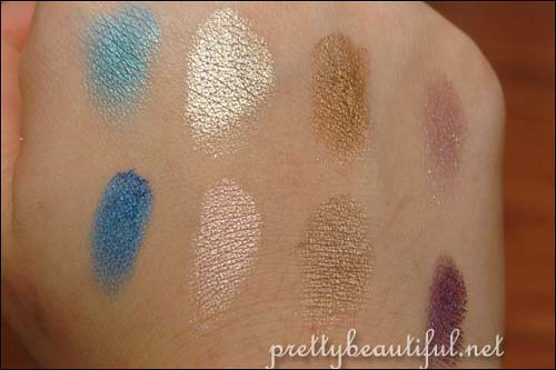 Urban Decay Book of Shadoq Volume III: NYC Swatches Part 2 on hand