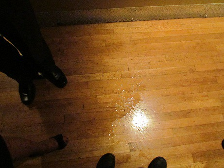 Wine Spilled on the Floor