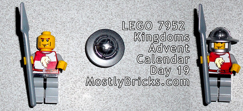 LEGO 7952 Kingdoms Advent Calendar Day 19
