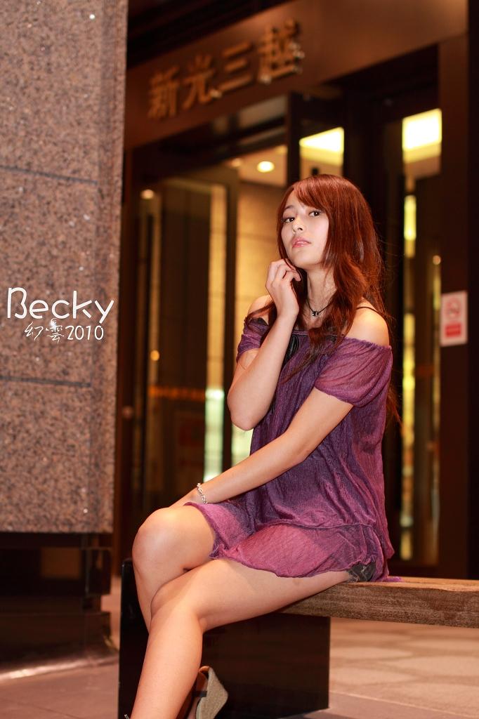 【Becky】信義商圈夜拍Vol-1