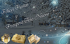 Feliz Navidad (Urugallu) Tags: canon navidad flickr nieve fiestas asturias lagos feliznavidad felicitacion asturies covadonga lagosdecovadonga 50d dedicatedphoto principadodeasturias urugallu