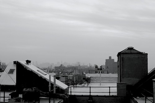 Cloudy Day on the Roof