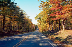 New Jersey road (Rafakoy) Tags: road autumn color colour fall film colors rural 35mm landscape photo newjersey colours kodak 28mm nj f100 scan nikonf100 professional negative land epson 100 v600 perfection 2010 ektar c41 kodakektar100 kodakprofessionalektar100 afnikkor2880mmf3356g epsonv600 epsonperfectionv600 nikkonaf2880mmf3356g
