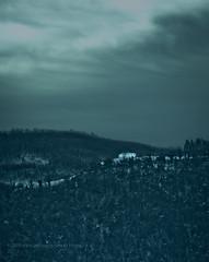 Isolation (.fulvio) Tags: blue trees italy cloud snow fall canon landscape whitehouse bluesky isolation darksky fulvio gp2 ef135f2lusm isolatedsubject 5dmarkii fall2010 gismaster wwwdofphotocom notthatwhitehouse
