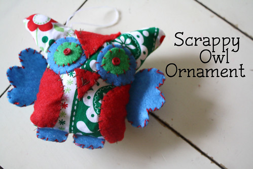 Scrappy Owl Ornament Tutorial