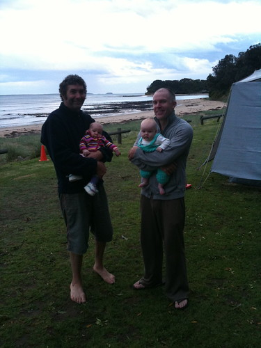 Blokes with their babies