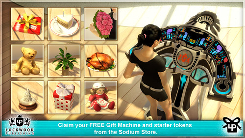 Gift Machine Sodium Store for PlayStation Home