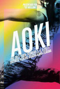 AOKI TOUR MEXICO 2011