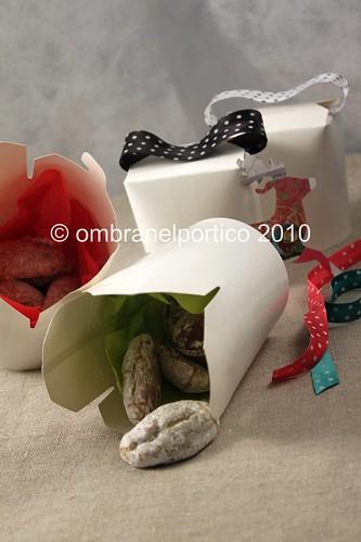 Pasticcini alle mandorle e pistacchio