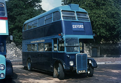 Charlton-on-Otmoor RT HLX215 at Oxford 1970 (David Christie 14) Tags: bus oxford rt lt