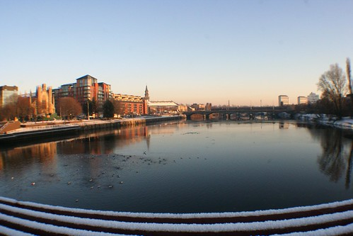 River Clyde in Winter