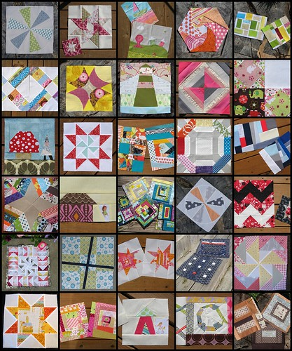 Some of the Bee Blocks I've Made - 2010
