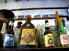 blue moon? (frankieleon) Tags: old beer glass interestingness interesting bestof bottles beers drink cc alcohol creativecommons shinerbock popular bluemoon frankieleon
