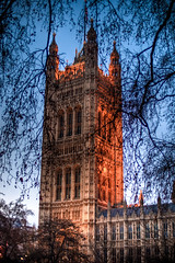 Parliament at Dusk (Tim_Arai) Tags: london architecture dusk voigtlander parliament hdr nokton 25mm f095 gf1 london2010