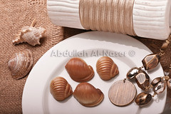 Sweet Shells (Abdullah AL-Naser) Tags: food shells macro art coffee canon artistic sweet chocolate shell 100mm sweets kuwait kuwaiti 30d abdullah naser          alnaser