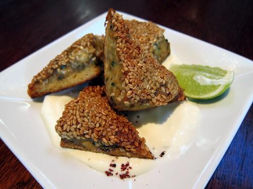 Calimari Toast