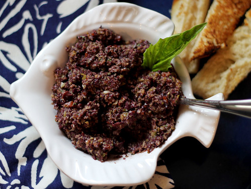 Mmmm Homemade Tapenade!!