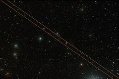 A plane, a nebula and a galaxy (Astrochoupe) Tags: plane stars space galaxy astronomy universe espace galaxie avion étoiles astronomie univers m97 planetarynebula nébuleuse nubula m108 nébuleuseplanétaire Astrometrydotnet:status=solved astro:fieldSize=359x239degrees astro:pixelScale=372 astro:name=owlnebula astro:subject=m97 Astrometrydotnet:version=14400 Astrometrydotnet:id=alpha20110107894169 astro:RA=16808794204 astro:Dec=554719906041 astro:orientation=9338 astro:subject=m108 astro:subject=ngc3556 astro:subject=ngc3587