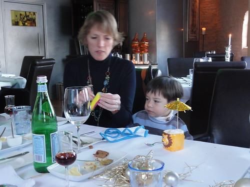 Christmas lunch at Vlees en Vis in Oud-Zevenaar