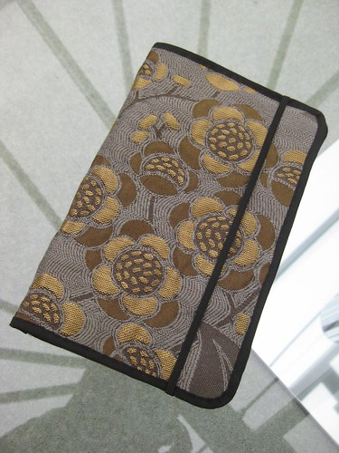 Home-made kindle cover