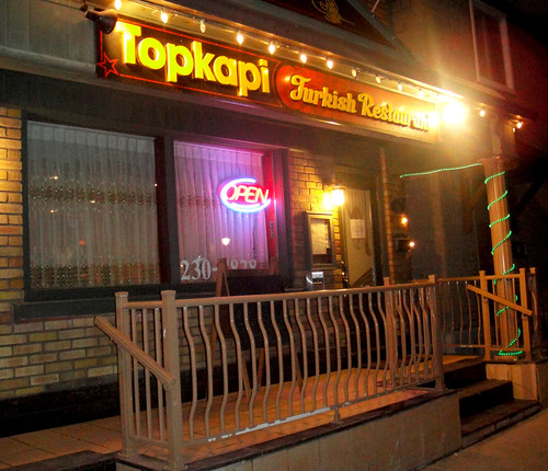 Topkapi Turkish Restaurant, Ottawa