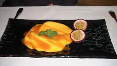 Mangos del Sur con fruta de la pasión
