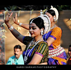 Graceful joy... (Rimi's Magik!) Tags: travel india tourism nature birds lady dance nikon expression indian culture chennai incredible orissa tamilnadu odissi dakshinachitra d90 ndia naturechennai