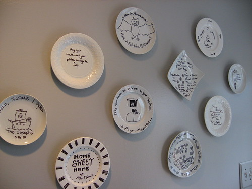 Decorated Marker Plates
