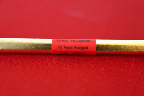 22 Karat Feingold - vergoldeter Bleistift