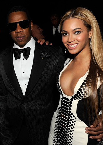 Jay-Z and Beyonce Knowles New Year's Eve at Marquee Nightclub in The Cosmopolitan of Las Vegas
