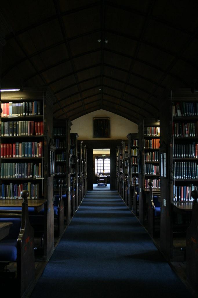 oxford corpus christi library