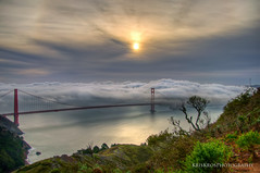 possibly the most beautiful, certainly the most photographed, bridge in the world (Kris Kros) Tags: sf sanfrancisco new morning bridge photoshop sunrise day shot goldengate kris hdr kkg photomatix kros kriskros 5xp cs5 kkgallery dsc10745678tonemapped