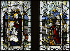 Adoration of the Magi (Lawrence OP) Tags: glass mary stjoseph wellscathedral stained virgin jesuschrist magi epiphany kempe