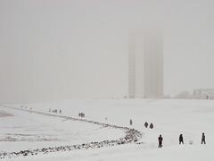 Cold (BlueRidgeKitties) Tags: winter snow germany deutschland northsea nordsee dike schleswigholstein deich norddeutschland dithmarschen büsum northerngermany westküste buesum ccbyncsa canonpowershotsx10is
