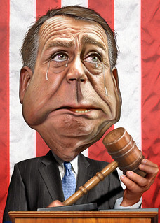 From flickr.com/photos/47422005@N04/5330913745/: John Boehner - Caricature