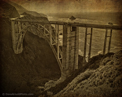 Bixby Creek (Dave Arnold Photo) Tags: ocean california ca bridge usa storm rain creek coast us photo image picture bigsur stormy pic images calif pacificocean coastal photograph pacificcoast bixbybridge bixbycreek bixbycreekbridge davearnold bixbycanyon davearnoldphotocom bixbycanyonbrdige