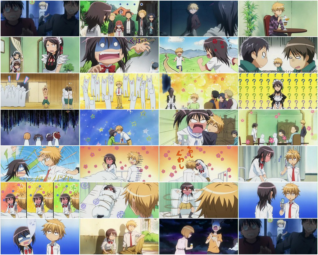 Maid Sama-Funny Faces