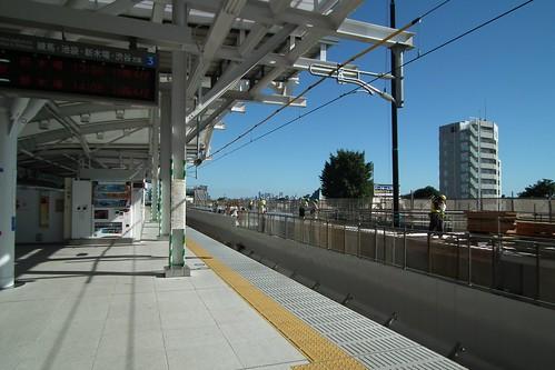 西新宿方面・広角端