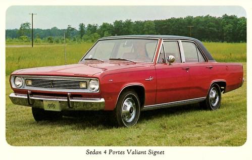 1969 Plymouth Valiant 2 Door 1969 Plymouth Valiant Signet