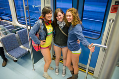 No Pants Subway Ride 2011 (Atomic Taco) Tags: nopants soundtransit improveverywhere linklightrail emeraldcityimprov