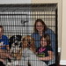 Albright, Roxanne, Family in cage