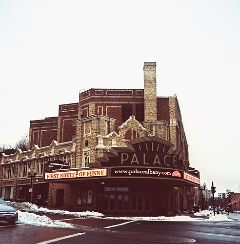 Palace Theater, Downtown Albany, Cross-Processed