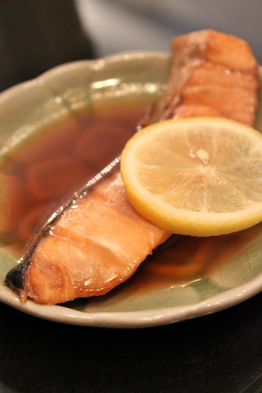 Butter Yaki Salmon