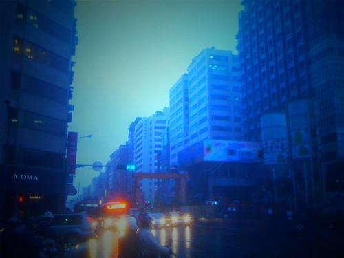 南京東路五段、東興路口